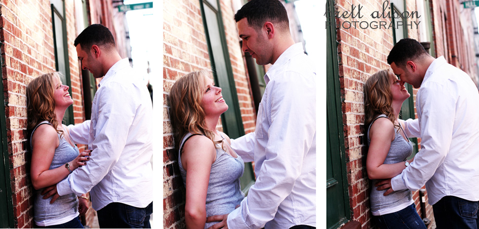 engagement photos old north church in boston