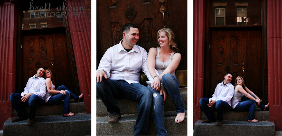 north end boston engagement wedding photographer