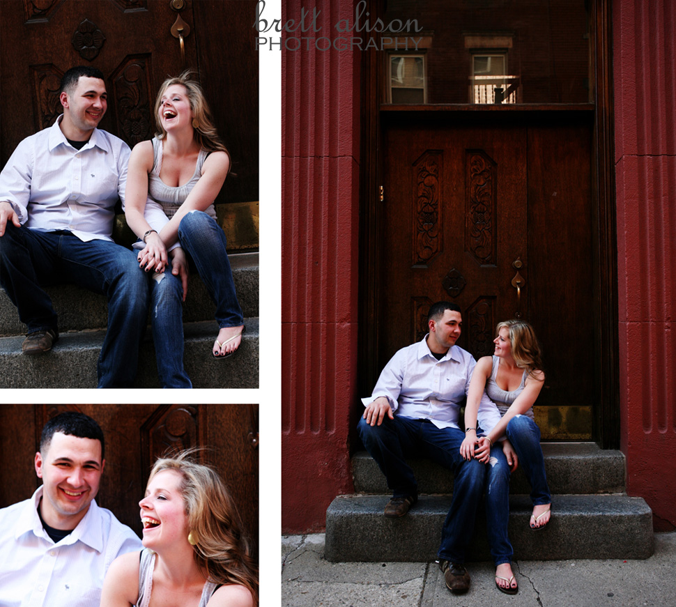 boston engagement north end