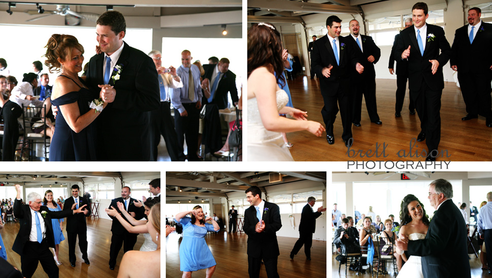 parents' dances; cohasset massachusetts wedding photographer