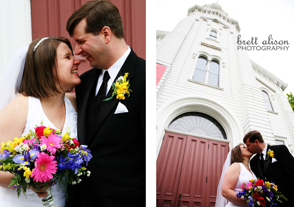 wedding photos trinitarian church north andover