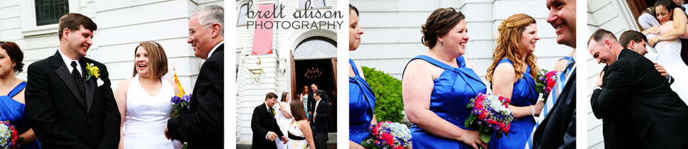 north andover trinitarian wedding photos