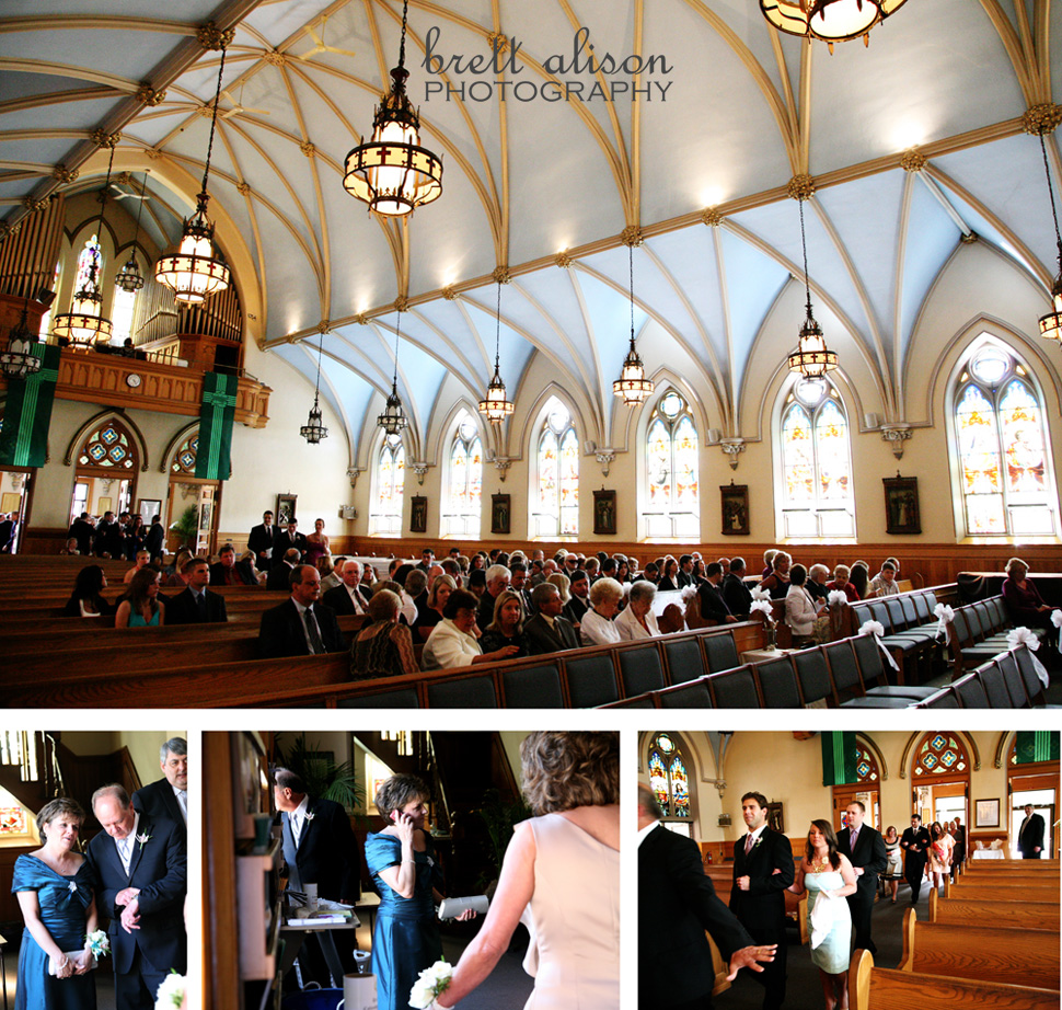 wedding at st. augustine's church andover massachusetts
