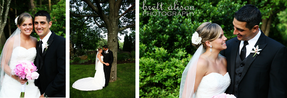 wedding photos andover country club