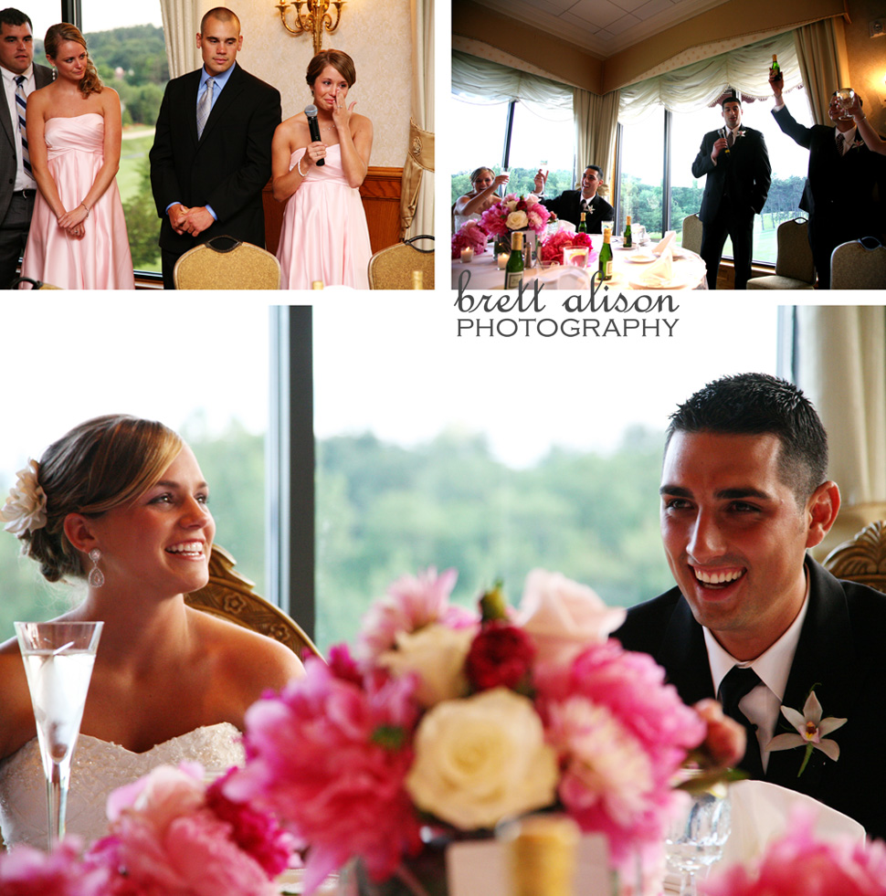 toasts at andover country club, boston wedding photographer