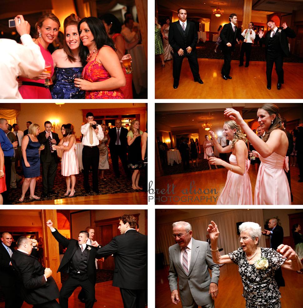 dancing photos at andover country club