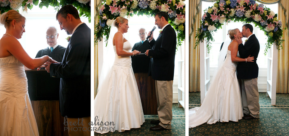 photos of wedding ceremony new seabury