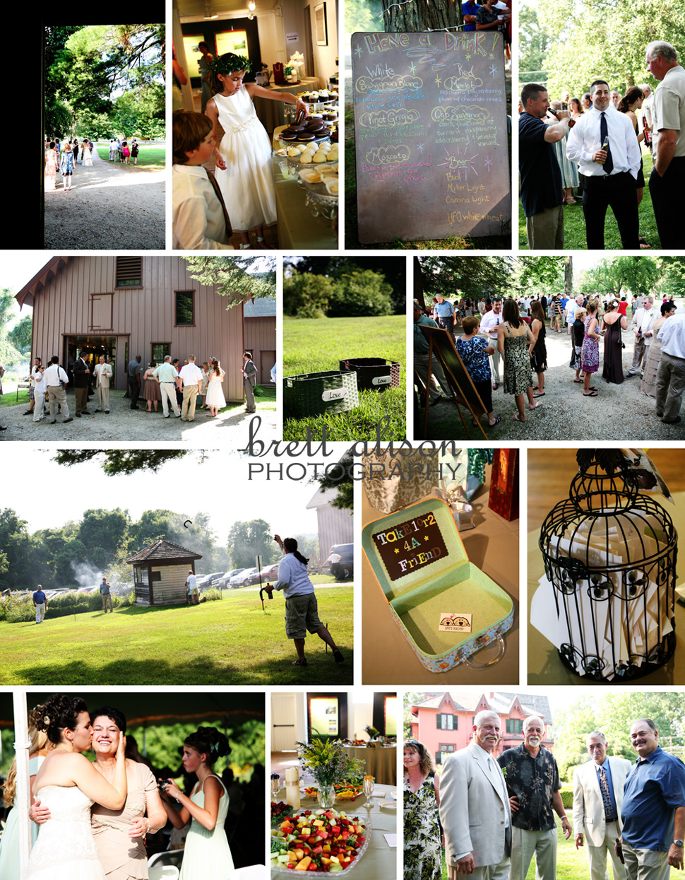 wedding reception at roseland cottage woodstock ct