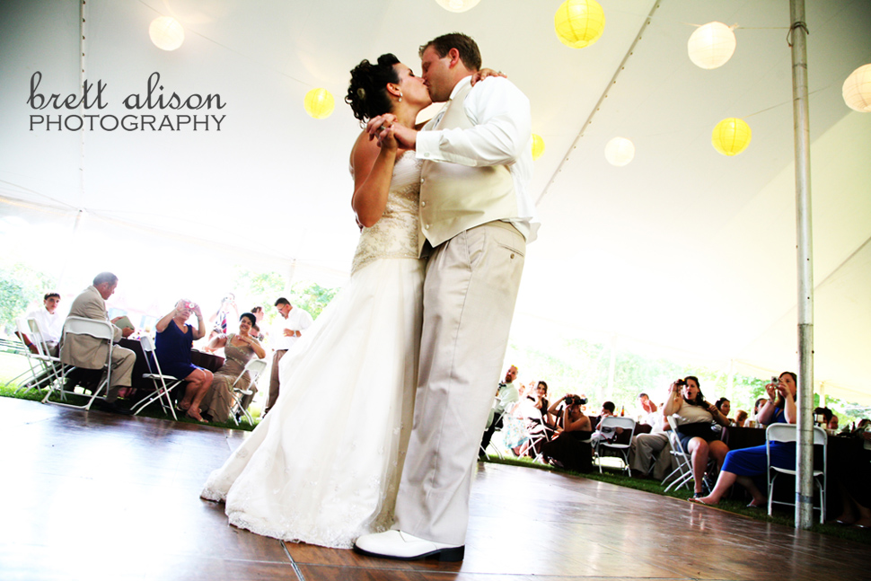 tent reception roseland cottage ct wedding