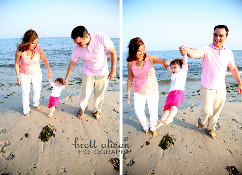 beach family photos massachusetts