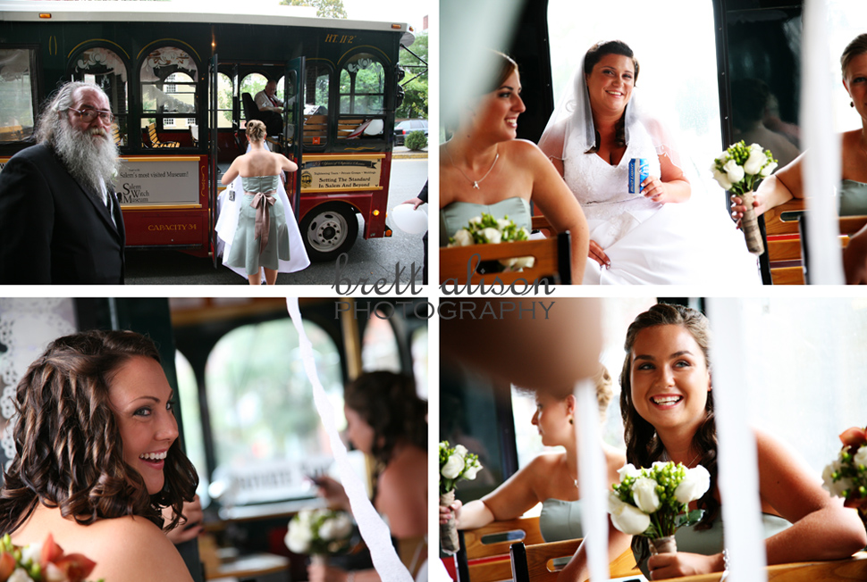 salem wedding trolley