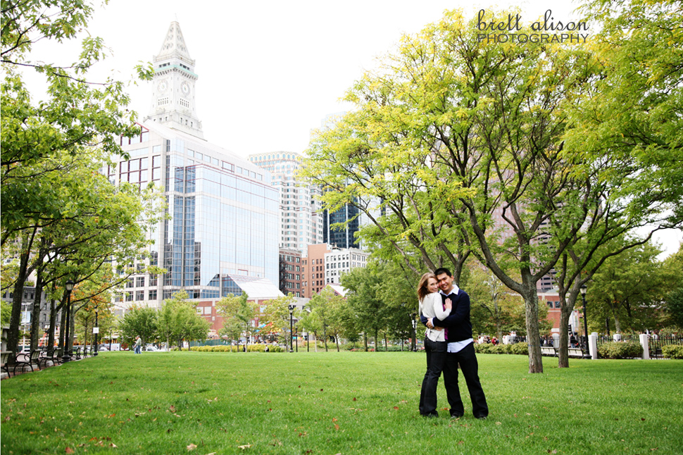 engagement photography boston