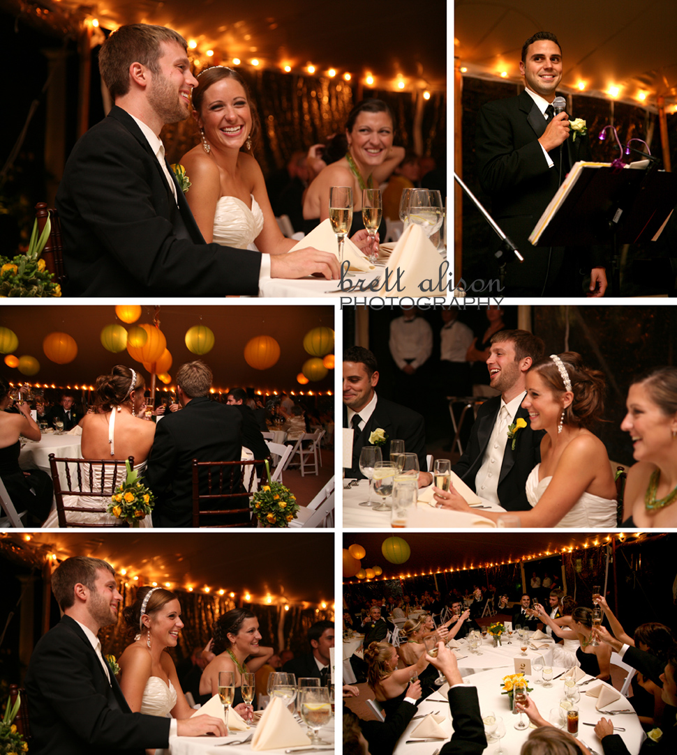 willowdale wedding recpetion photos