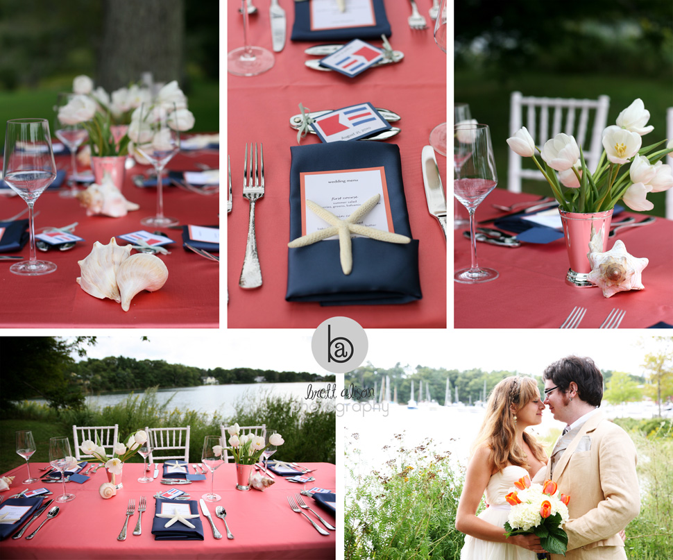 nautical theme wedding boston