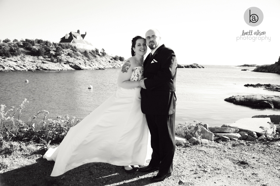 newport ocean wedding photos
