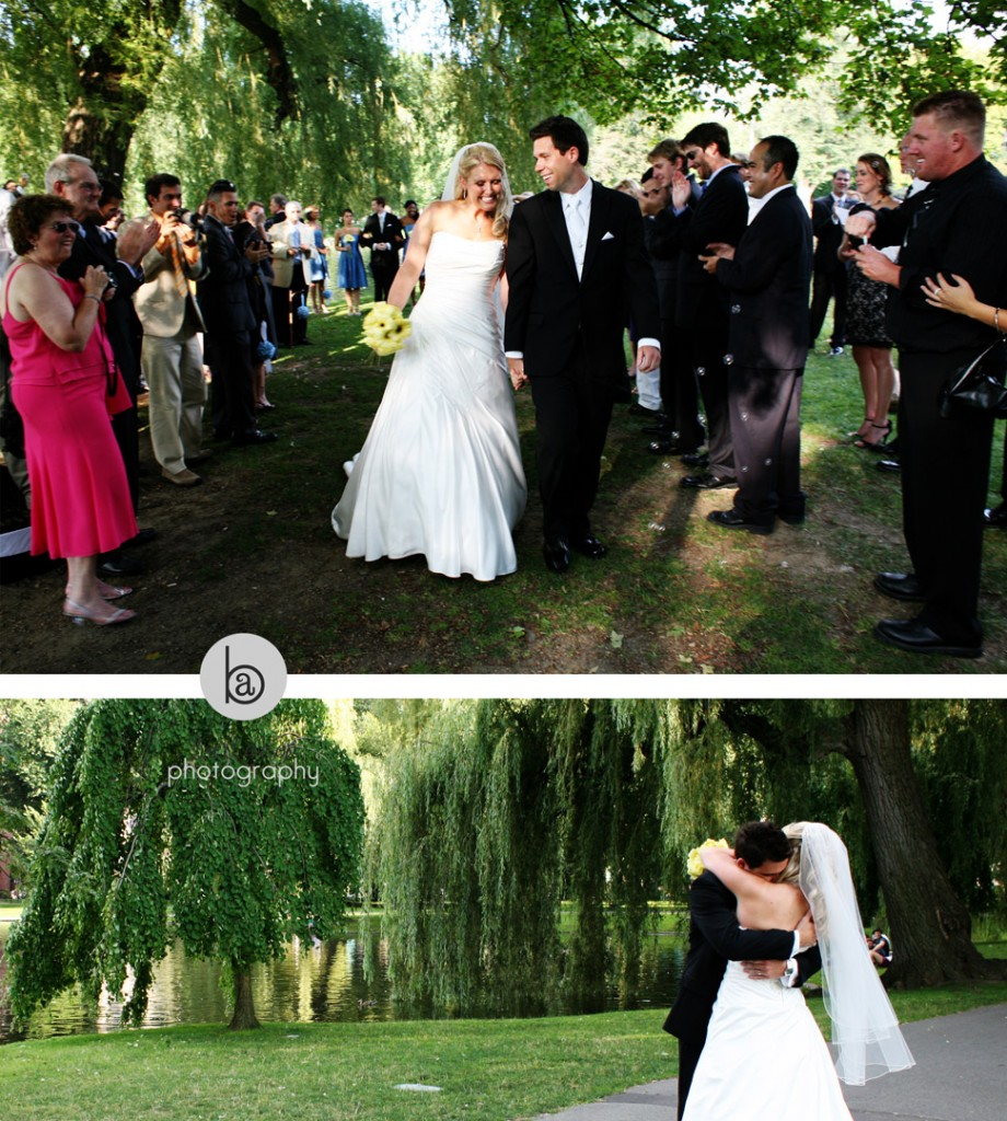 wedding at public garden photos