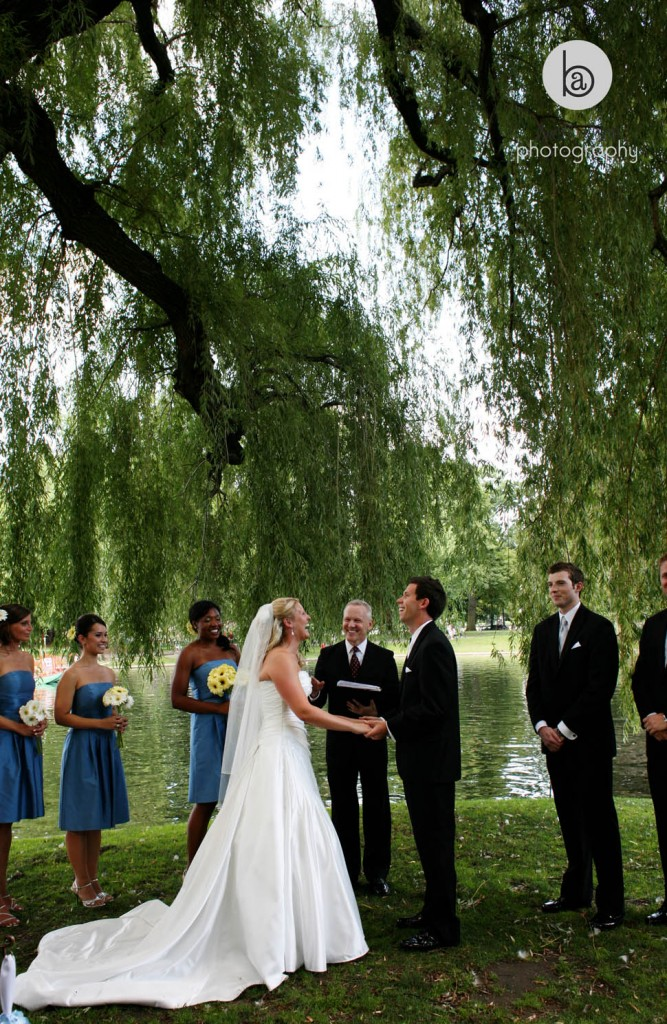 public garden boston wedding