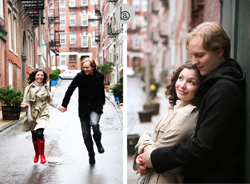 north end photos engagement