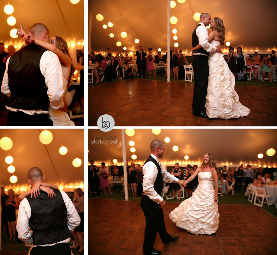 wedding at historic estate moraine farm