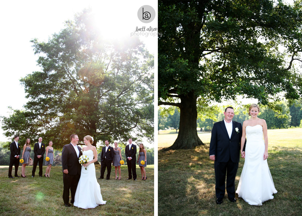 wedding party photos hampshire college