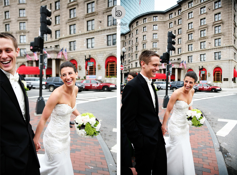 wedding photos in copley square boston