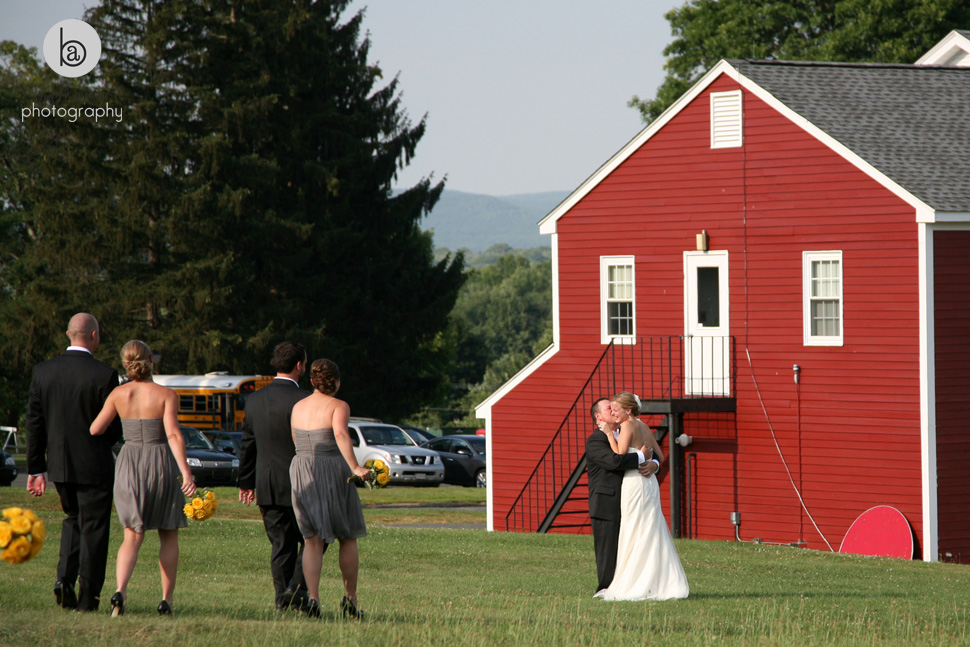 hampshire college wedding photos