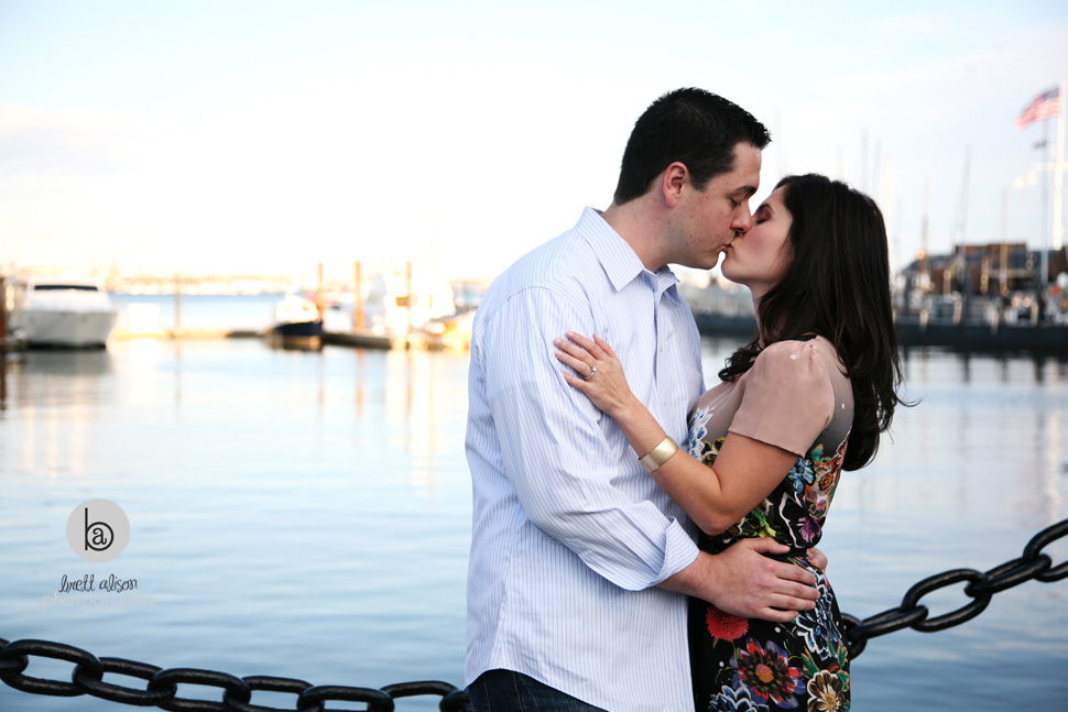 north end engagement photographer