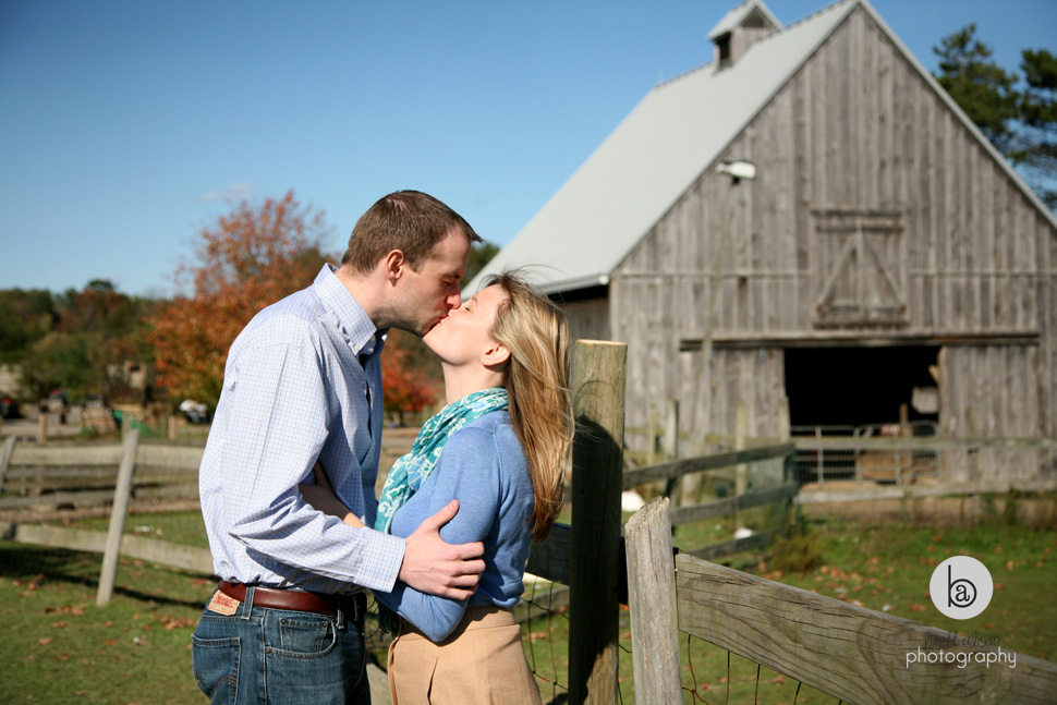 fall engagement pictures boston