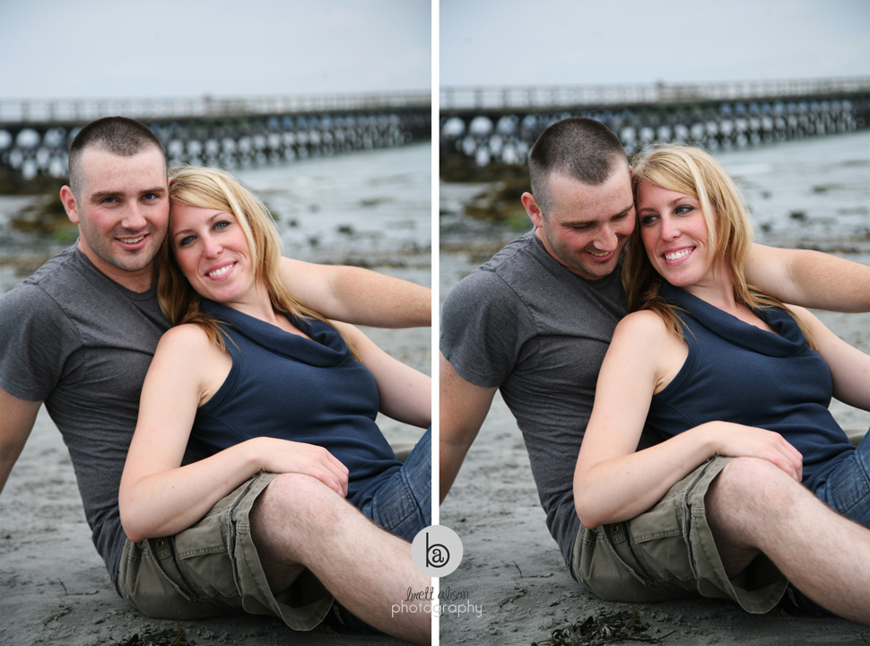 southern maine engagement photos