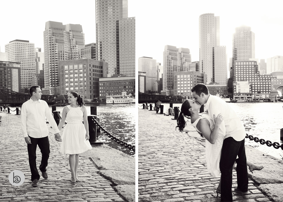 engagement session seaport boston
