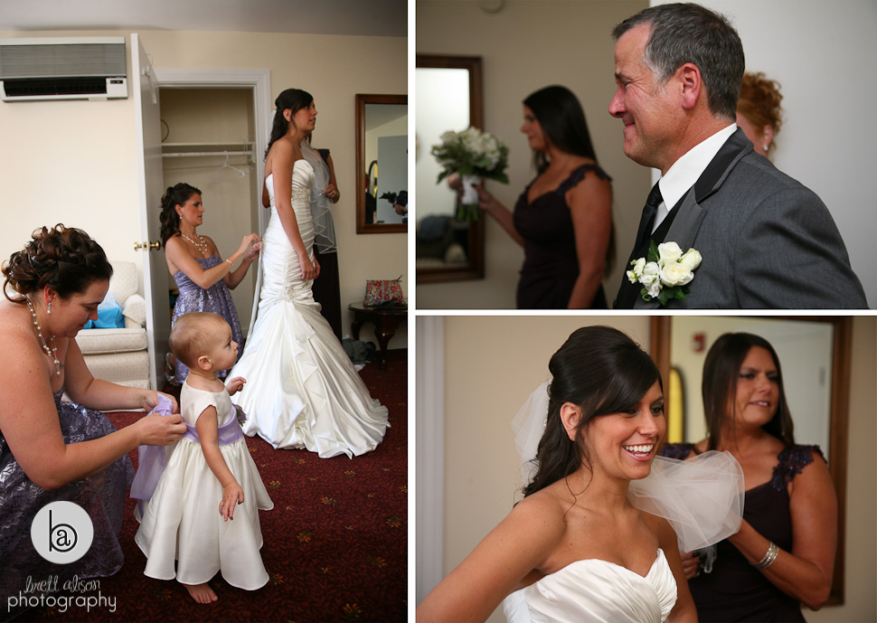 wedding at nashua country club