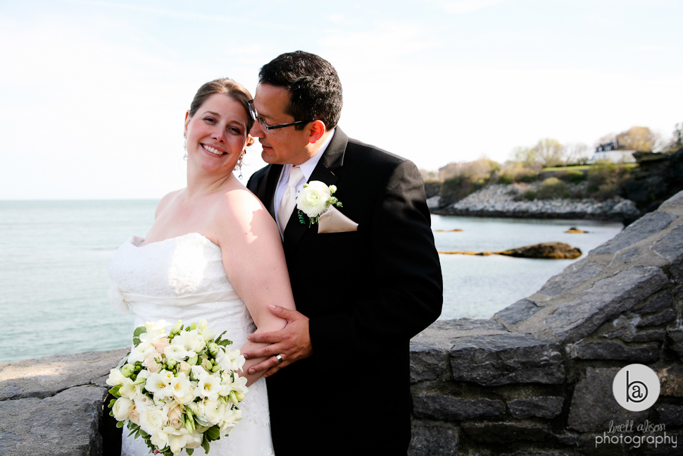cliff walk wedding newport