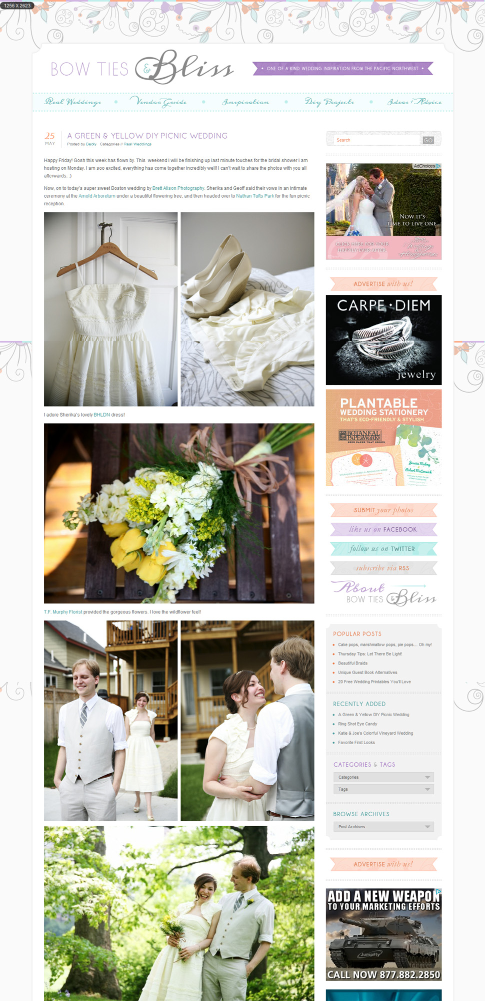boston featured wedding photographer