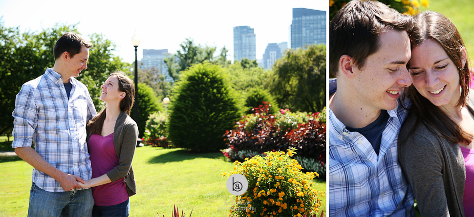 boston common engagement photos