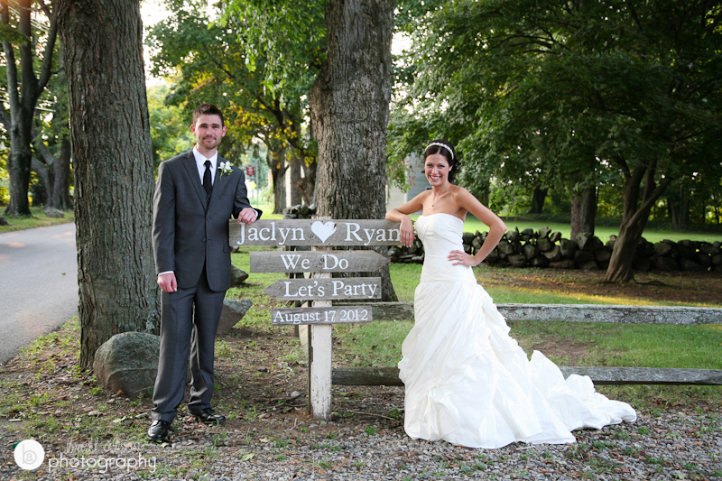 fun wedding photos at brooksby farm