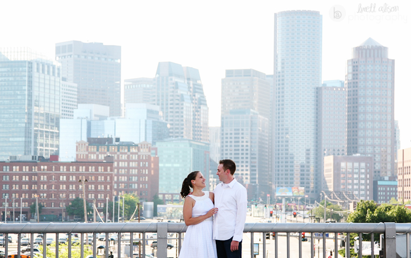 seaport boston engagement photos