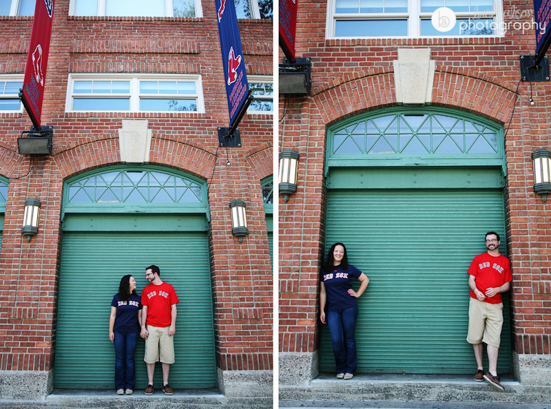 fenway engagement session