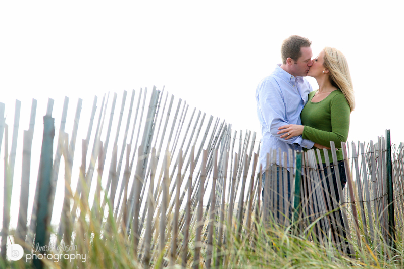 beach engagement photos plum island