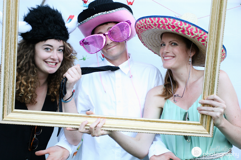 fun photobooth for wedding nh
