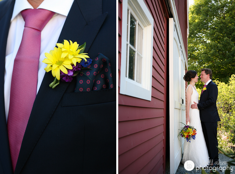 red barn wedding photo nh