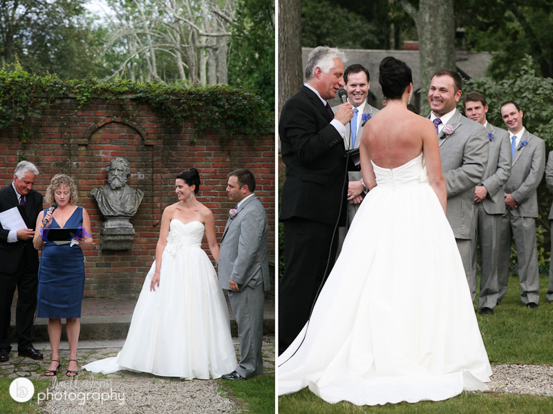 garden wedding photos wayside inn