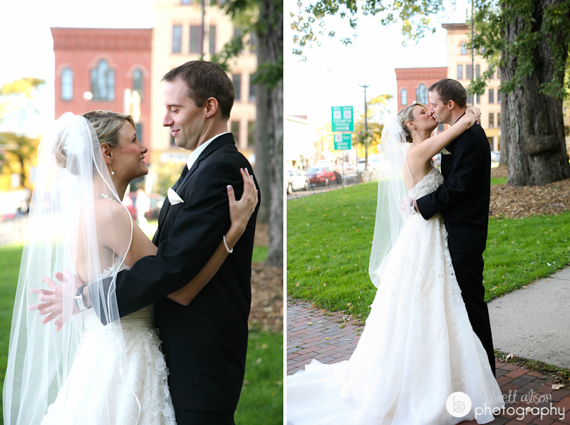 downtown northampton wedding photos