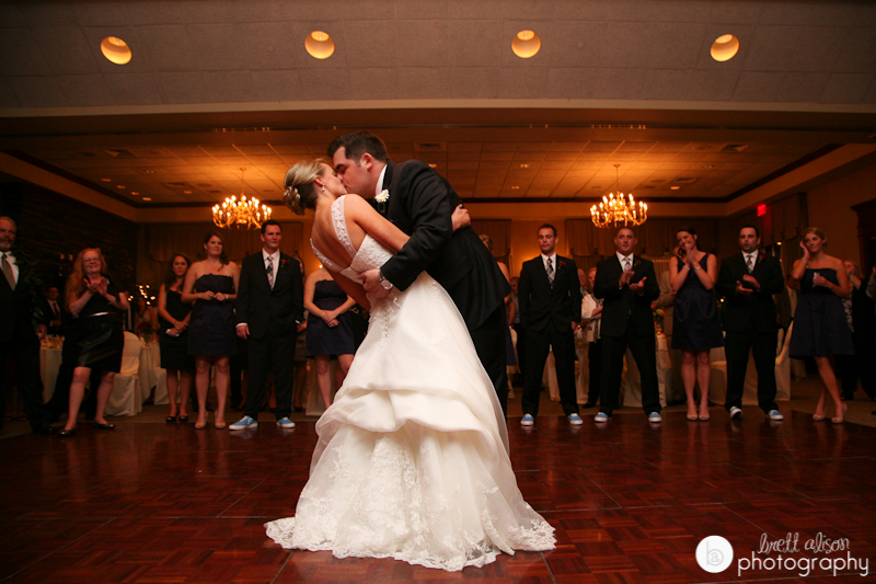 first dance at sky meadow country club