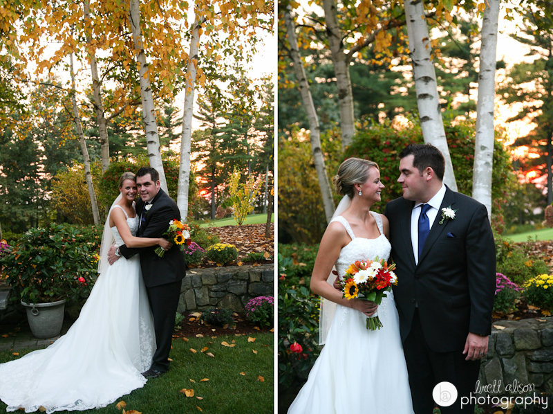 fall wedding in nh