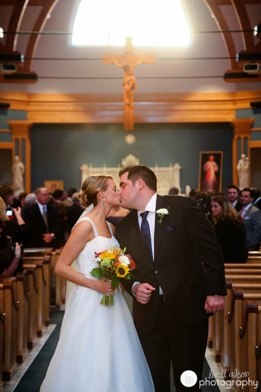 wedding immaculate conception church nashua