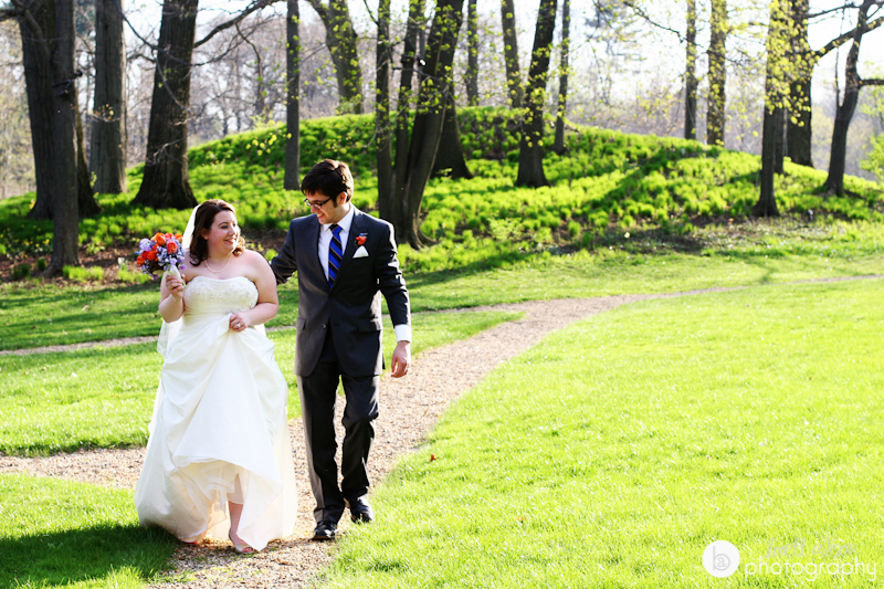 spring wedding lyman estate