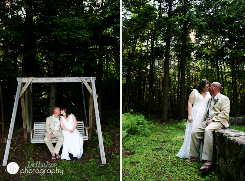wedding at dexters inn sunapee nh