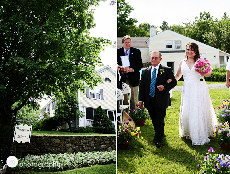 wedding at dexters inn sunapee