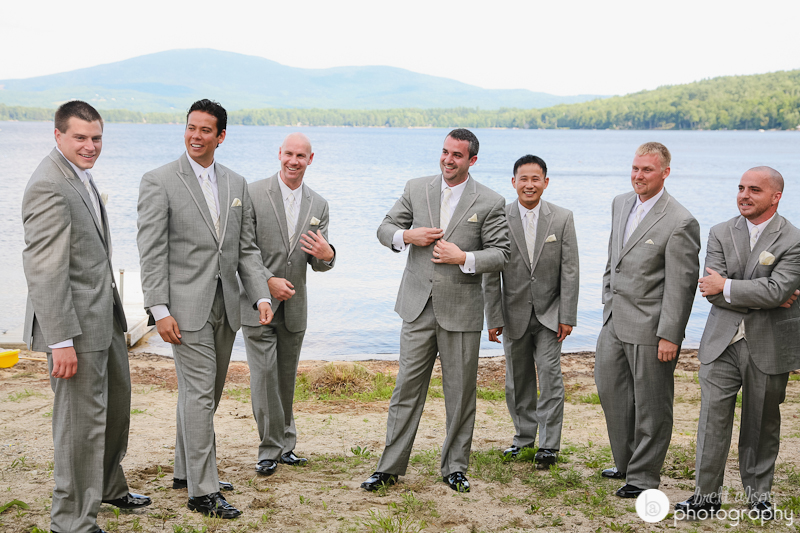 lake wedding pictures new hampshire