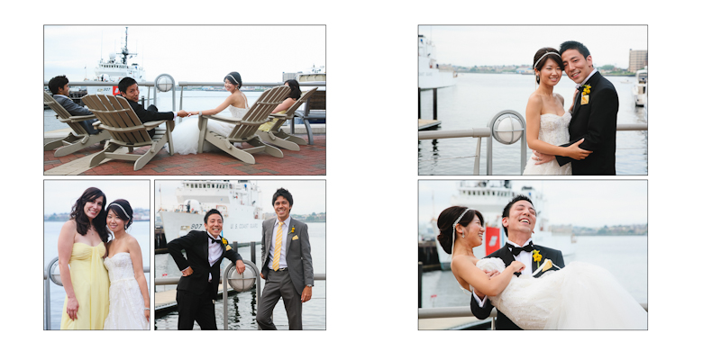 seaport boston wedding photos